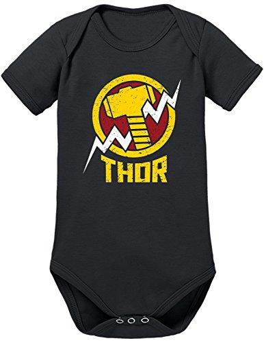 TLM Avengers Thor Babybody 74 Schwarz (Spiderman 3 Venom Kostüm)