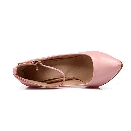 1TO9 Girls fibbia fibbia banchetto gomma pumps-shoes Pink