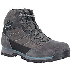 Berghaus UK Hillwalker Trek Tech Boot, Botas de Senderismo para Mujer, Azul (Navy/Blue N07), 40.5 EU