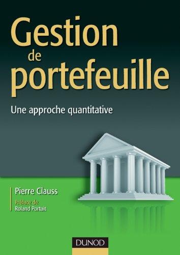Gestion de portefeuille - Une approche quantitative