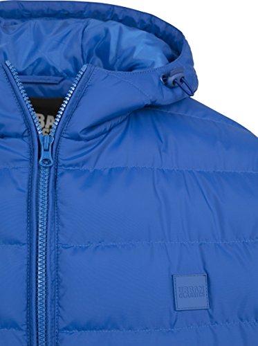 Urban Classics Herren Jacke Basic Bubble Jacket Royal