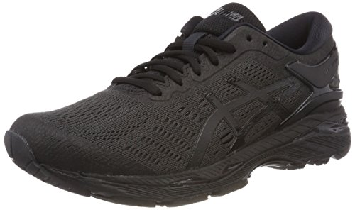 ASICS Gel-Kayano 24, Scarpe Running Uomo, Grigio (Dark Grey/Black/Fiery Red 9590), 47 EU