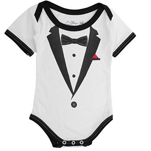 Barboteuse-pour-bb-spcial-Gentleman-Baby-Smoking-Vtement-pour-bb-Body-pour-bb-Pyjama-pour-bb-de-68-et-86-cm