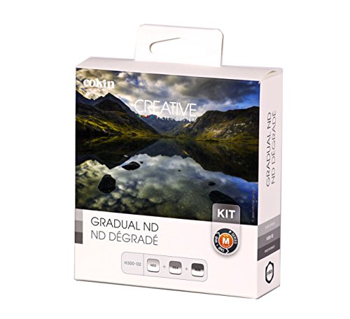 Cokin WP-H300-02 Gradual ND Kit Creative Filter System P-Serie grau