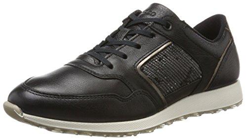 Ecco Soft 5, Zapatos de Cordones Derby para Mujer, Gris (Moon Rock), 37 EU