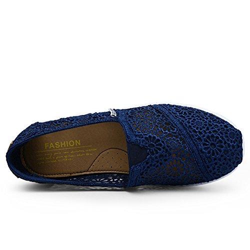 Mljsh - Scarpe con plateau donna Blu (blu scuro)