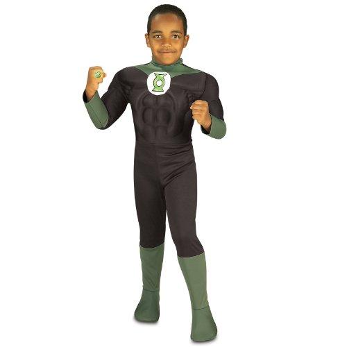 Pumped Green Lantern Kostüm DC Comics (Kostüme Lantern Kinder Green)