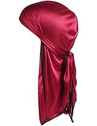 Moonuy Femmes Fleur Musulman Ruffle Chapeau Beanie Écharpe Turban Tête Wrap  Cap Mousseline de Soie Fleur fb581720165