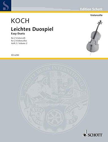 Leichtes Duospiel Violoncello 2