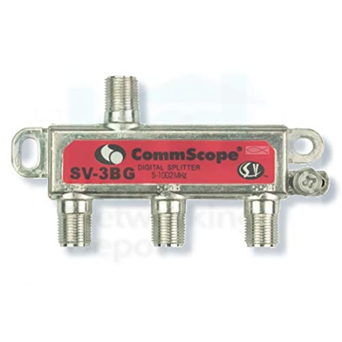 1 Piece SV-3G 3-Way Professional Grade 5-1002Mhz Corrosion Resistant  Plating RG6 RG7 RG8 RG59 RG8 RG11 Coaxial Cable Digital Splitter for  Charter Time