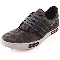 REVOKE Ultimate Military Casual Unisex Sneaker Shoes (8 UK/India)(Military-Grn-8)