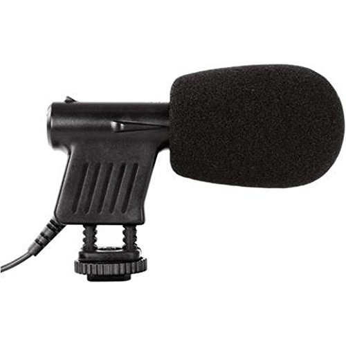 BOYA by by-vm01Mini gerichtete Video Kondensator Mikrofon für DSLR Kamera/Camcorder-Schwarz