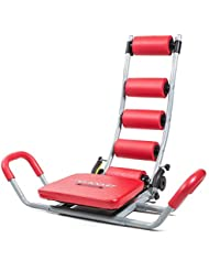 Fitfiu AB8003 Abdominal Trainer, Bauchtrainer, Crunch Trainer, Rot