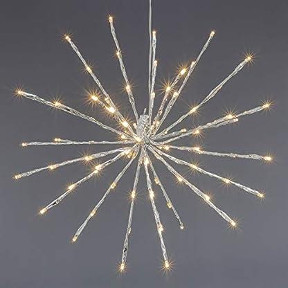 Nipach-GmbH-80-LED-Meteor-Stern-Leuchtfarbe-warm-wei–40-cm-fr-Innen-und-Auen-mit-Trafo-Timer-Weihnachtsstern-zum-Aufhngen-Dekostern-Xmas-Deko