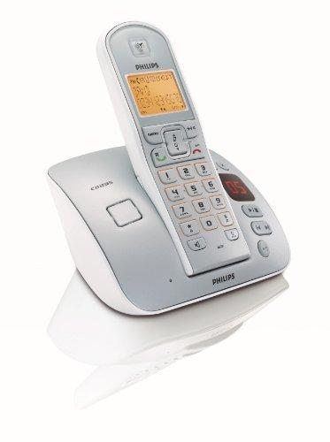 Philips CD 235 mit Anrufbeantworter schnurloses DECT Telefon