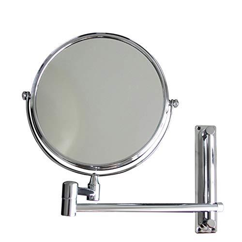 Tragbare Mini Außenspiegel Schönheit Teleskop Badezimmer Kosmetikspiegel Geeignet Für Schlafzimmer Und Bad (Größe: 8 Zoll) (Außenspiegel Hardware)