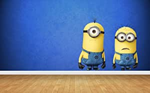 Despicable Me 2 Wall Stickers Art Decal Vinyl Boys Bedroom