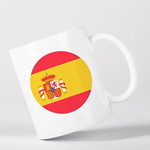 Spain Flag Bandera Española España Taza