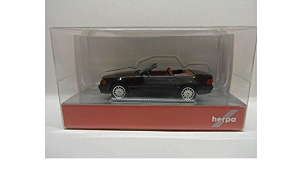 Mercedes-Benz SL-Klasse R129 Cabrio Schwarz 1989-2001 1//43 Minichamps Maxichamps