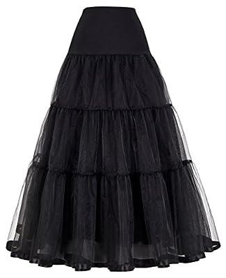 GRACE KARIN® Women's Ankle Length Petticoats for Wedding Dress Bridal Slips 6Colors