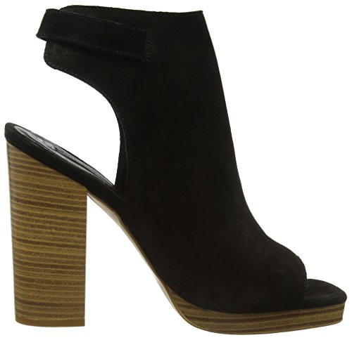 New Look Premium Steps, Stivaletti Donna Nero (Black (01/Black))