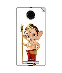 STICKER FOR MICROMAX YU YUNIQUE BY instyler