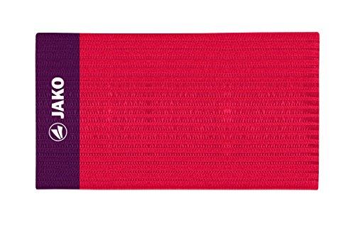 JAKO Erwachsene Kapitänsbinde Classico Rot 35 x 9.0 cm