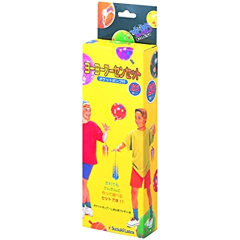 Con Suzuki lattice yo-yo Fusen set pompa tasca 20 pezzi