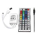 44 Key Tasten IR Remote Control Fernbedienung, 12V 6A Controller Kontroller Steuerung für RGB LED Fee Beleuchtung Stripe Licht Streifen