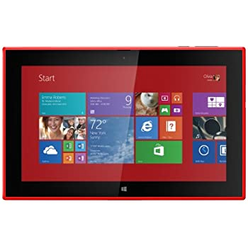Nokia 2520 10.1-inch Tablet with Phone Functionality (Red ...