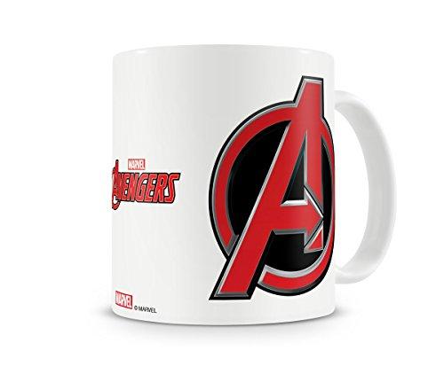 Offizielles Lizenzprodukt The Avengers Logo Kaffeetasse, Kaffeebecher