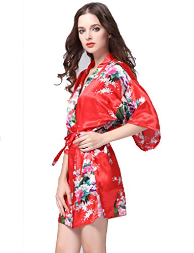 BELLOO - Vestaglia -  donna Red