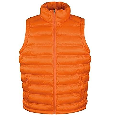 Result Ice Bird - Veste sans manches - Homme (L) (Orange)