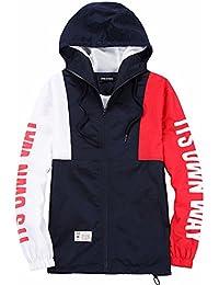 Amazon.es: chaquetas rojas - Awake / Hombre: Ropa