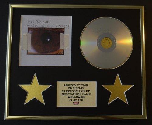 IAN BROWN/CD Display/Limitata Edizione/Certificato di autenticità/MUSIC OF THE SPHERES