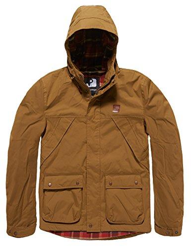 Vintage Industries Garbon Jacket Navy Khaki