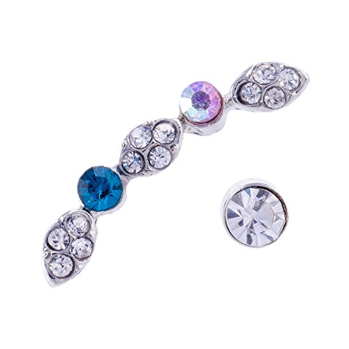 Blue Banana Multi Colour Jewels Ohrring Piercing
