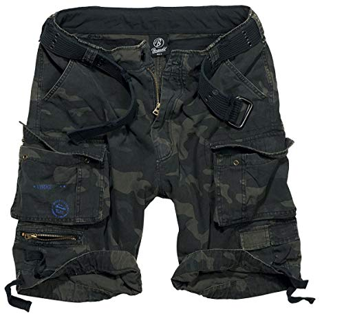 BRANDIT Pantaloni Bermuda uomo Cargo SAVAGE Short con Cintura (M) 230775671b