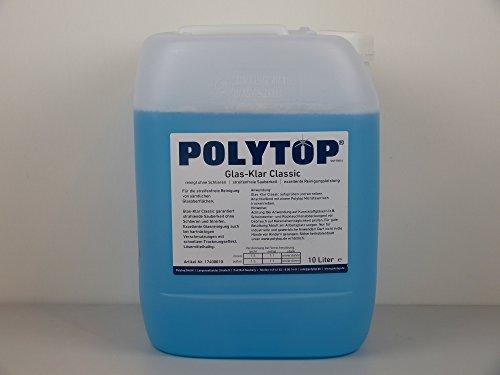 POLYTOP Glas-Klar Classic Glasreiniger 10 Liter -