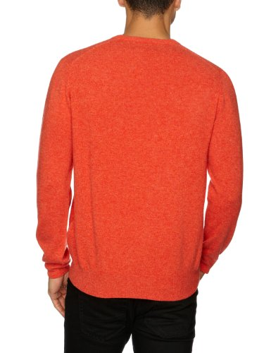 Alan Paine Herren Pullover Orange - Orange (Inferno)