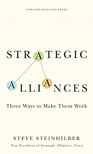 Strategic Alliances: Three Ways to Make Them Work (Memo to the CEO) by Steve Steinhilber (2008-10-14)