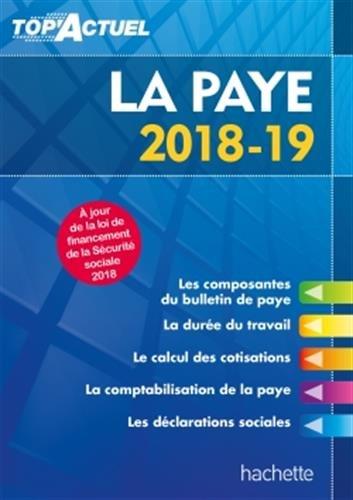 Top'Actuel La Paye 2018-2019 par Sabine Lestrade
