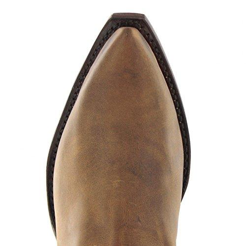 Sendra boots bottes 1692 westernstiefelette cowboystiefelette (différentes couleurs et modèles) Tangerine