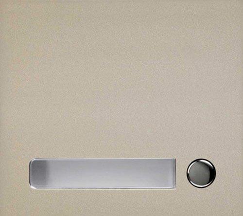 Aiphone gf-1p Eckgehäuse One Call Button-Panel für den GF und GT Serie Modular multi-tenant Eintrag Sicherheit System Aiphone-panel
