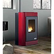 Estufa a PELLAS karmek One Oslo de 7,27 kW de aire de ventilación de