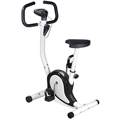 Popamazing Home Gym Adjustable Resistance Generic Exercise Bike Gym Fitness Master Workout Machine