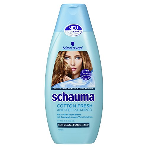 Schauma Cotton Fresh Shampoo, 400 ml