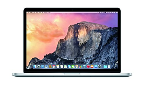 Apple MacBook Pro with Retina Display 15-inch Laptop (Intel Core i7 2.2 GHz, 16 GB RAM, 256 GB SSD, Intel Iris, OS Sierra) - Silver - 2015 - MJLQ2B/A - UK Keyboard
