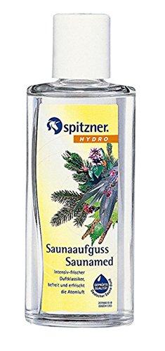 """Preisvergleich Produktbild Saunaaufguss """"Saunamed"""" Sparpaket (2 x 190 ml) von Spitzner"""
