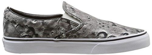 Vans U Classic Slip-on Moon, Unisex-Erwachsene Sneakers Grau (moon/pewter/true White)